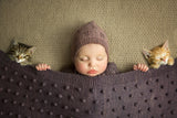 Bobble Knitted Baby Blanket