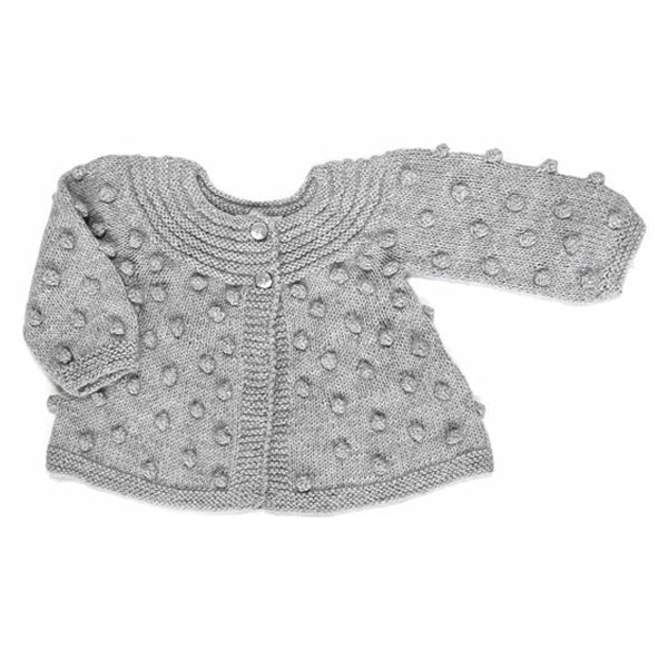 Bobble Knitted Girl Cardigan