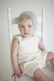Lace Bonnet Sea Foam