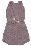 Caterpillar Romper Plum