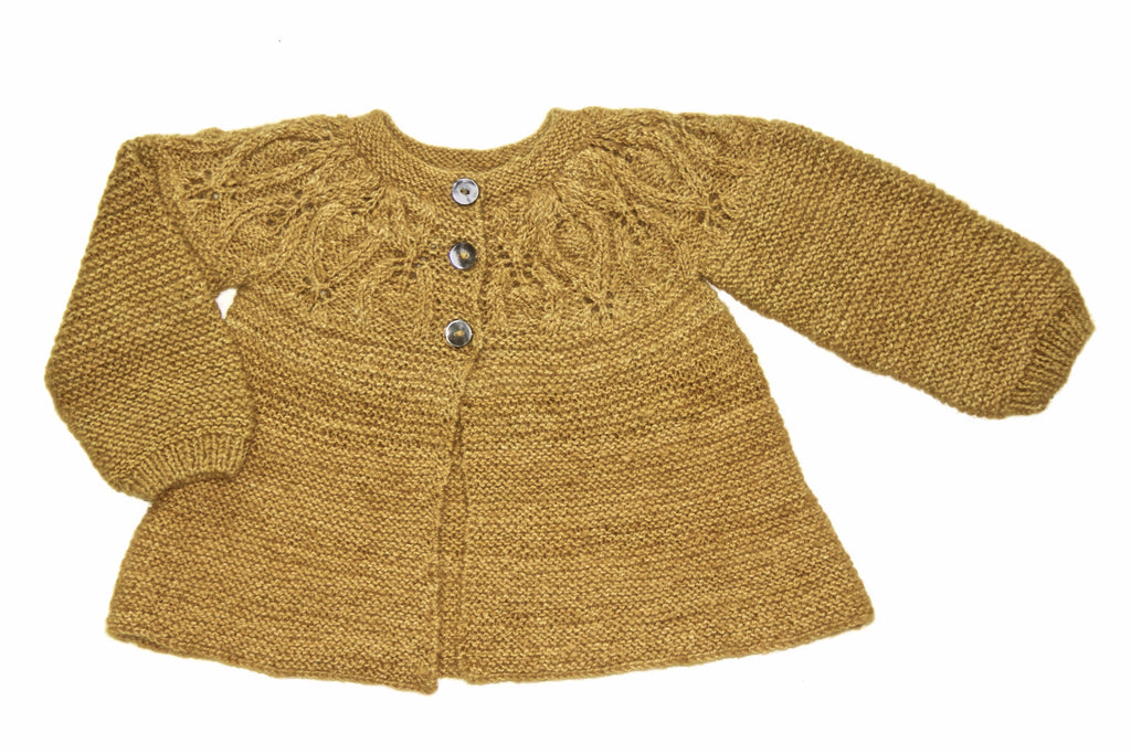 Buisson Cardigan - Mustard Yellow