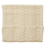 Alpaca Seashell Blanket - Cream