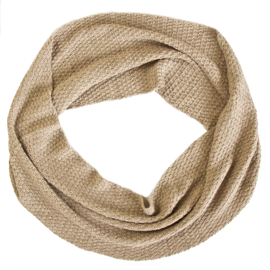 Infinity Scarf/ Light Sand