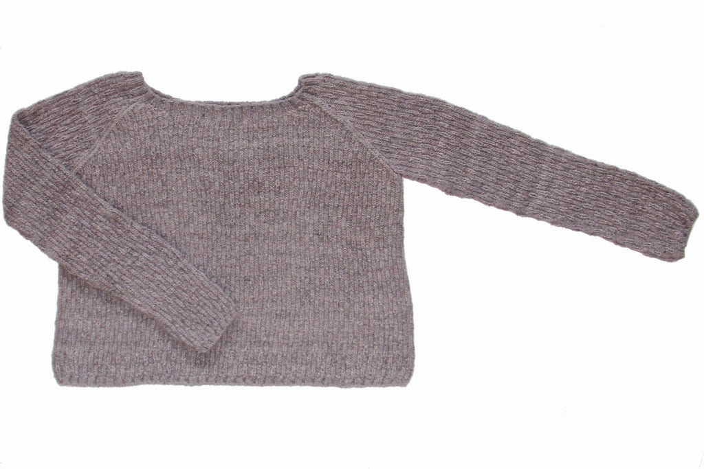 Amaru Sweater/ Light Taupe