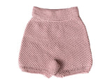 Tunisian Shorts Pink