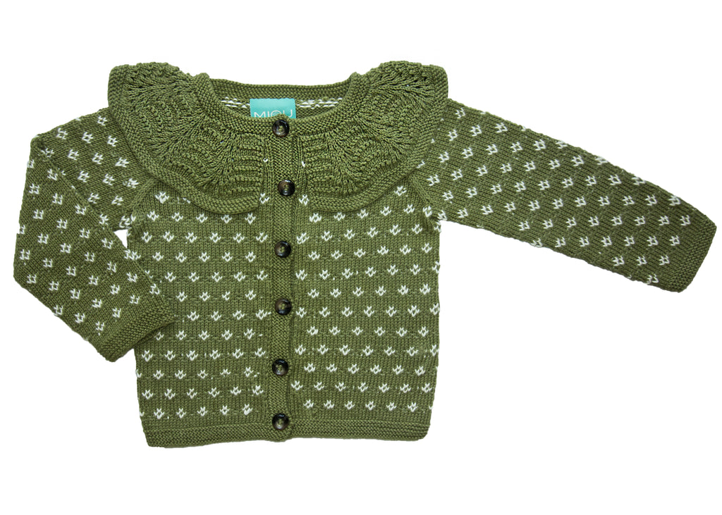Blossom Cardigan - Earth Colours