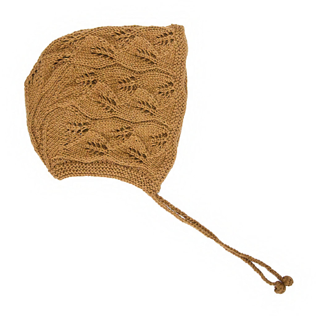 Cotton Leaf Bonnet - Earth Colours