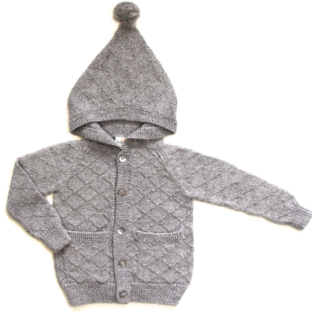 Meunier Cardigan - Cloud Grey