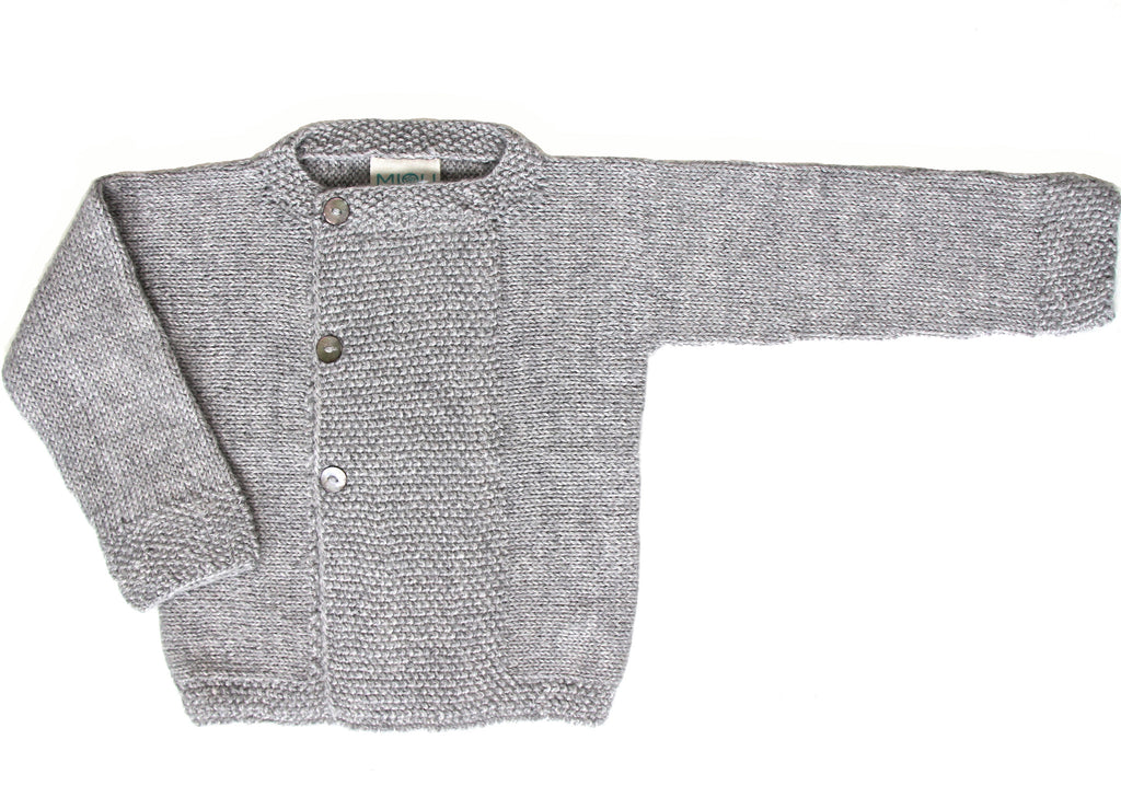 Marin Cardigan - Cloud Grey