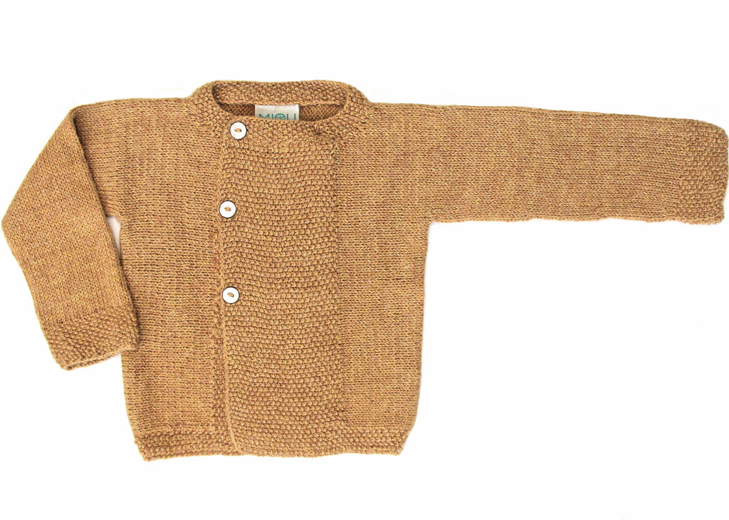 Marin Cardigan - Amber Yellow
