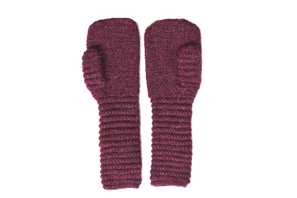 Gloves - Aubergine