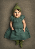 Cotton Blossom Dress - Earth Colours