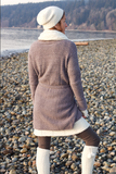 Women's Coat/ Dark Taupe