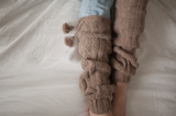Women's Leg Warmers/ Dark Taupe