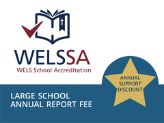 CLS Contributor: Large Schools Annual Report Fee (enrollment 100 or more)