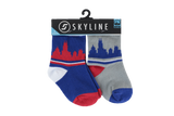 CHI MINIS | 2-PACK | BALLPARK - Skyline Socks