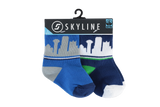 DAL MINIS | 2-PACK | HARDWOOD - Skyline Socks
