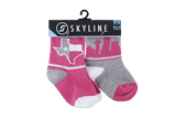DAL MINIS | 2-PACK | PINK - Skyline Socks