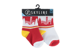 KC MINIS | 2-PACK | GRIDIRON - Skyline Socks