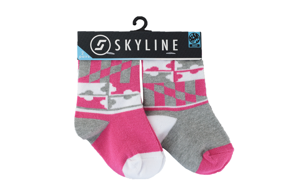 MD | MINIS 2-PACK - Skyline Socks