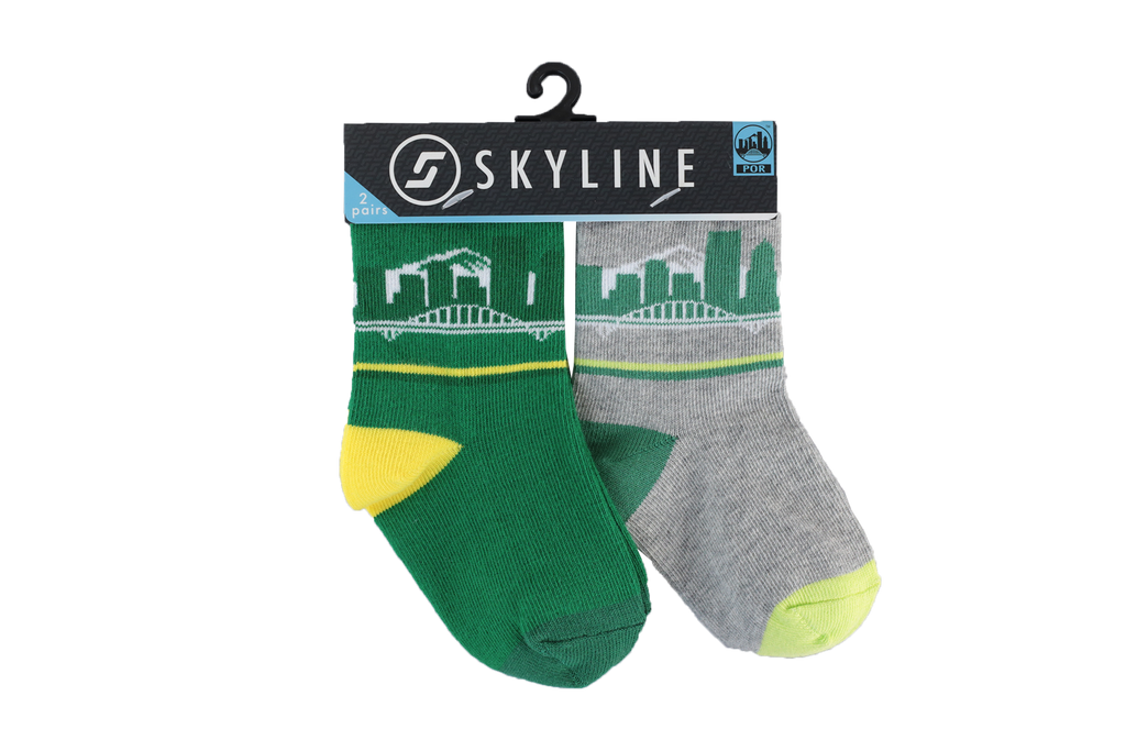 POR MINIS | 2-PACK - Skyline Socks