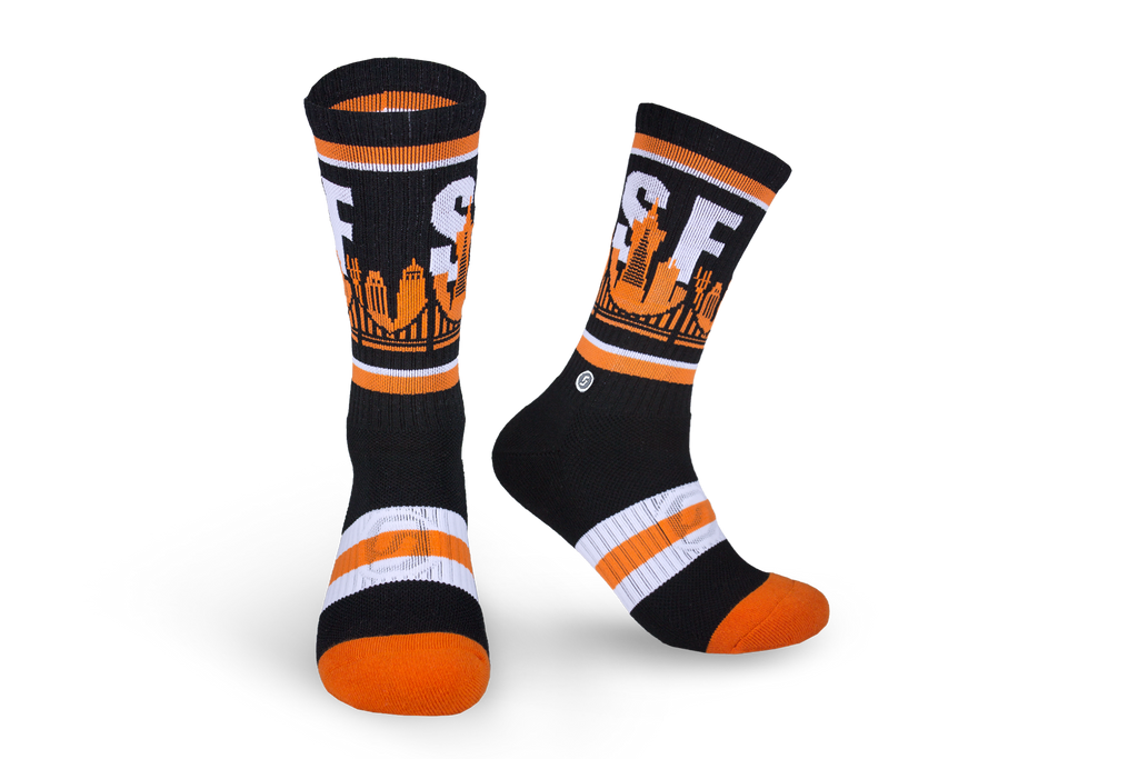 SF | BLACK & ORANGE