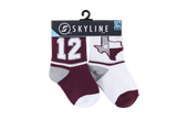 TEXAS 12 MINIS | 2-PACK - Skyline Socks