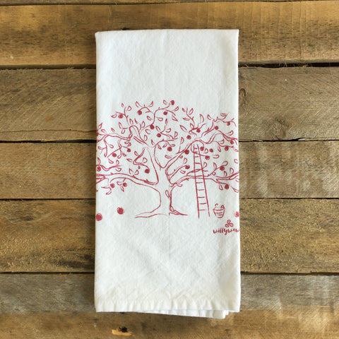 Apple Tree Tea Towel