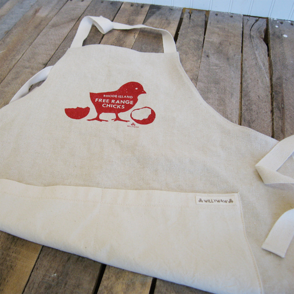 Hemp Apron - RI Free Range Chicks