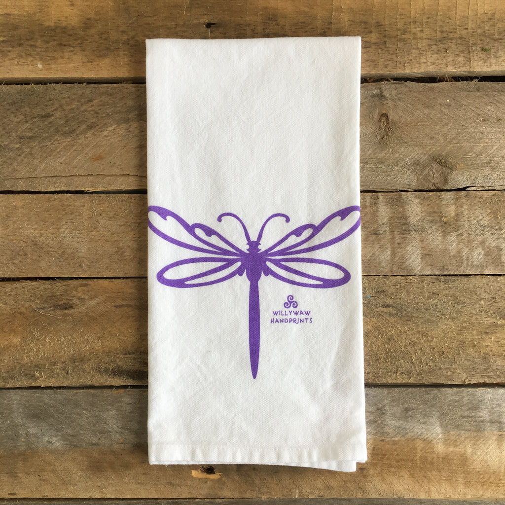 Dragonfly Tea Towel