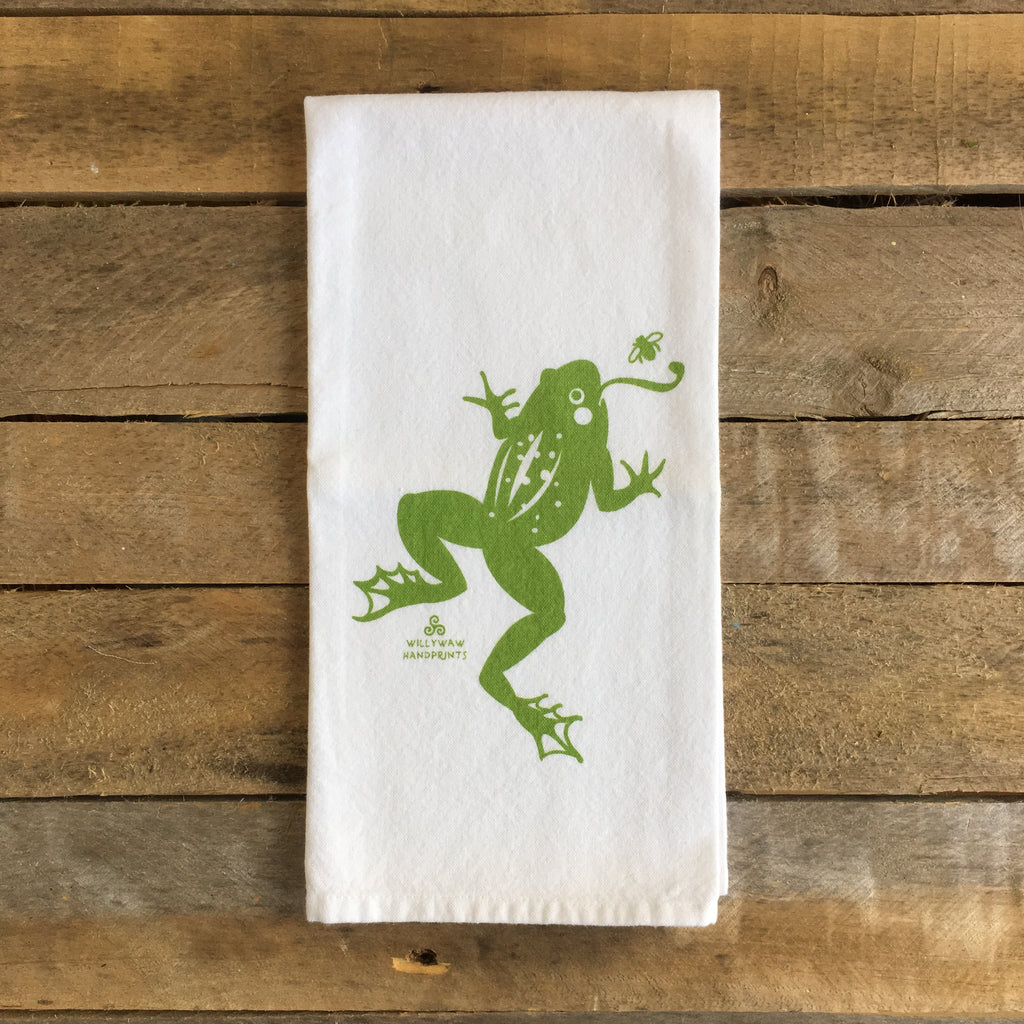 Frog Tea Towel
