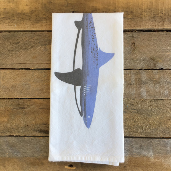 Great White Shark Tea Towel