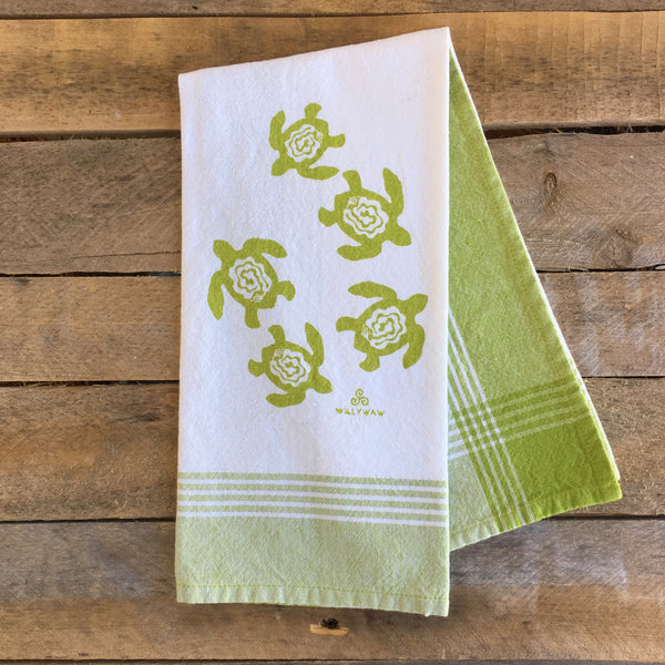 Sea Turtles Tea Towel