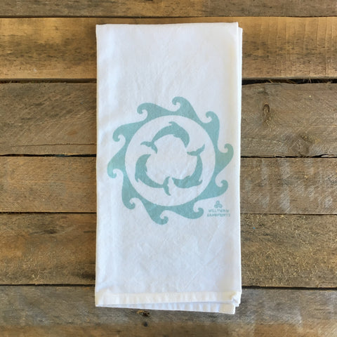 Dolphin Tea Towel