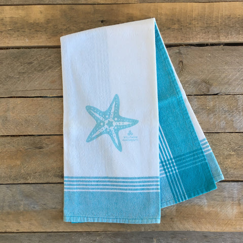 Starfish Tea Towel