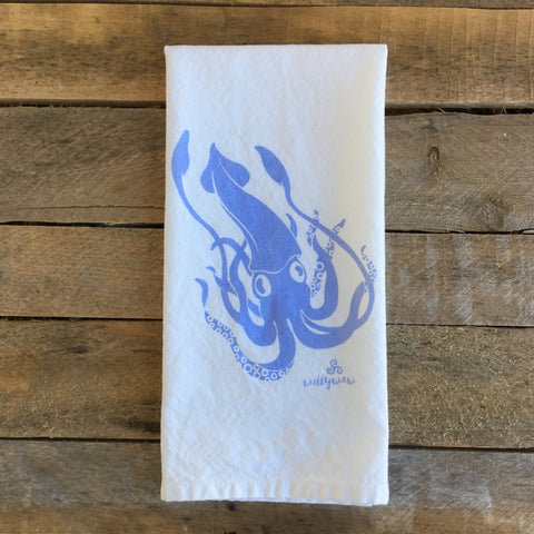 Squid Tea Towel
