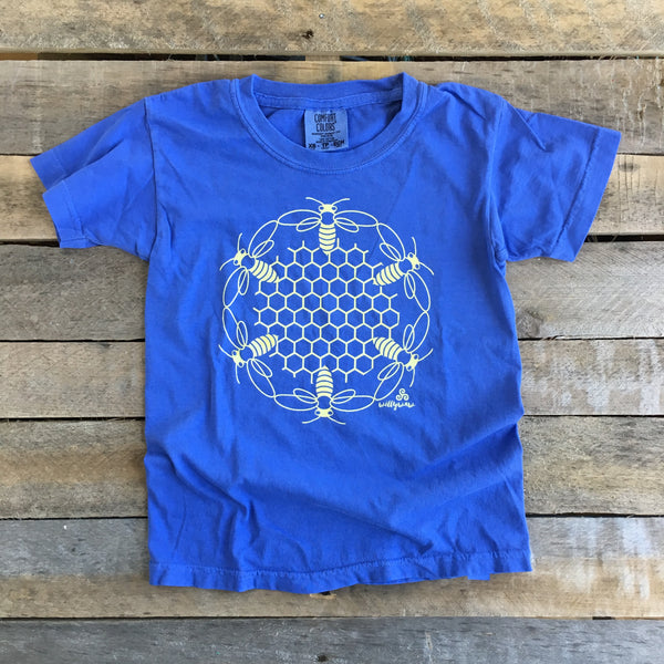 Kid's T - Honeycomb