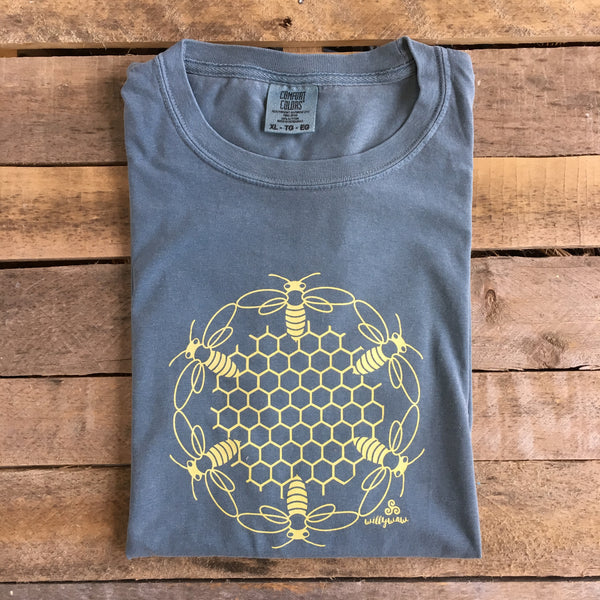MEN'S T - HONEYCOMB