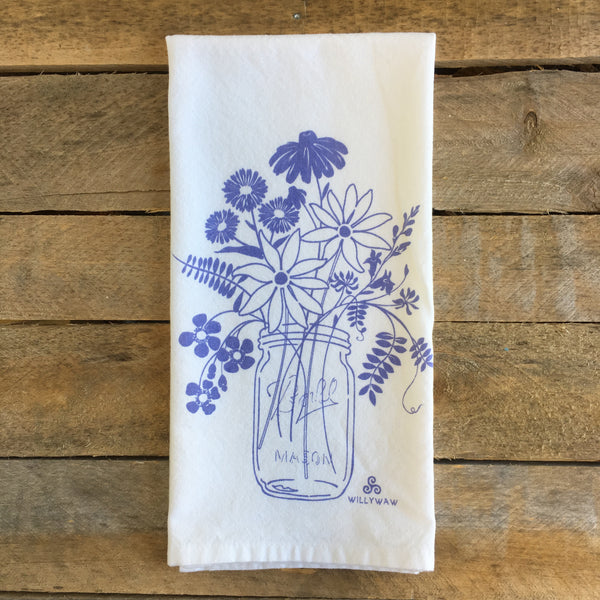 Mason Jar Tea Towel