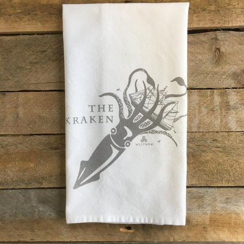 Kraken Tea Towel