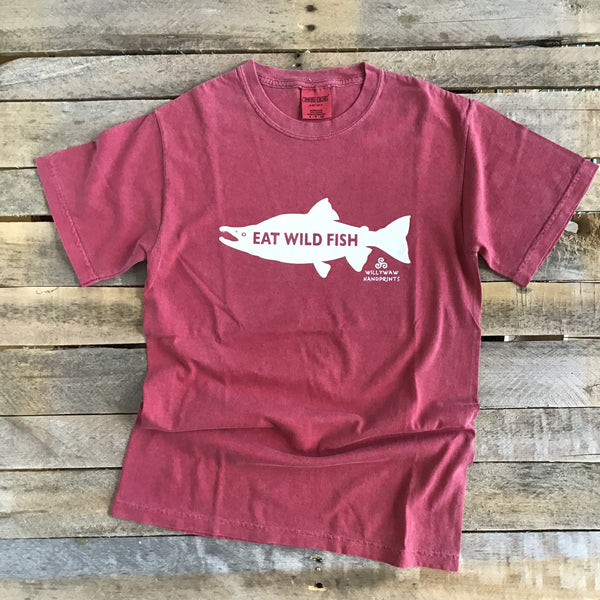 Men's T - Eat Wild Fish