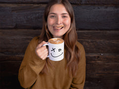 Shasimo smile coffee mug with happy girl