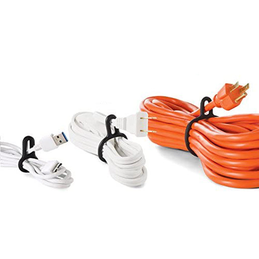 Set de 12 amarras para cables Binditz color negro UT Wire