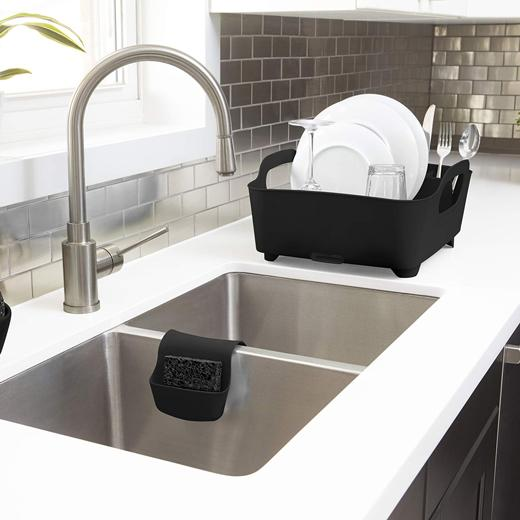 Secaplatos tub negro Umbra