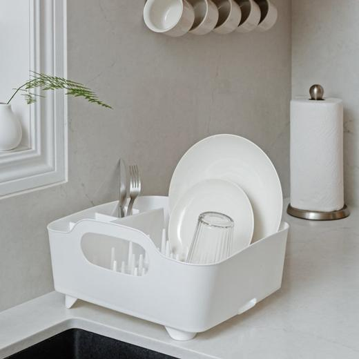 Secaplatos tub blanco Umbra
