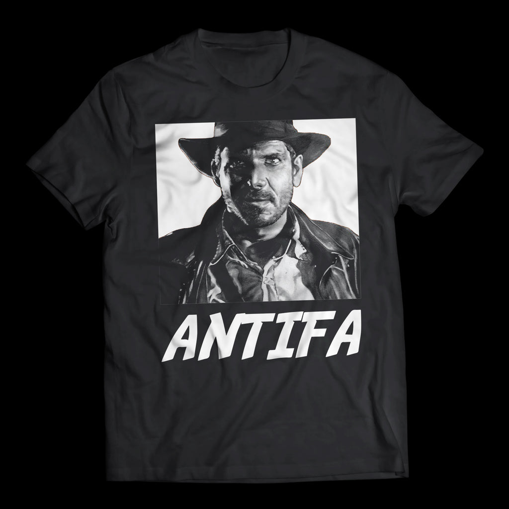 INDIANA JONES ANTIFA T-SHIRT