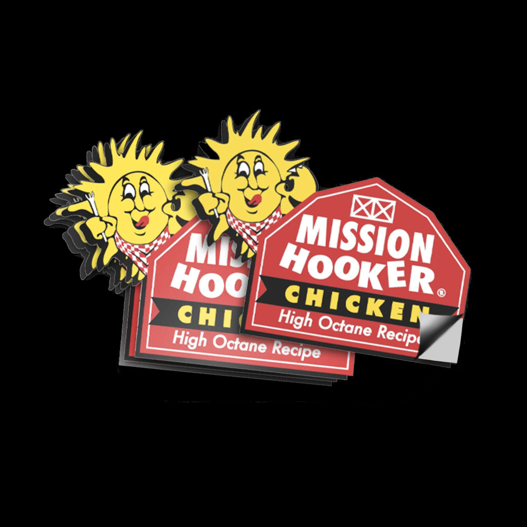 Mission Hooker Chicken Sticker (limited edition)