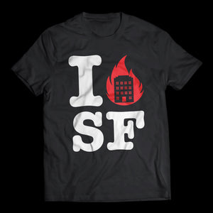 I BURN SF - T-Shirt