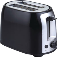 Brentwood 2-slice Cool Touch Toaster (black & Stainless Steel)