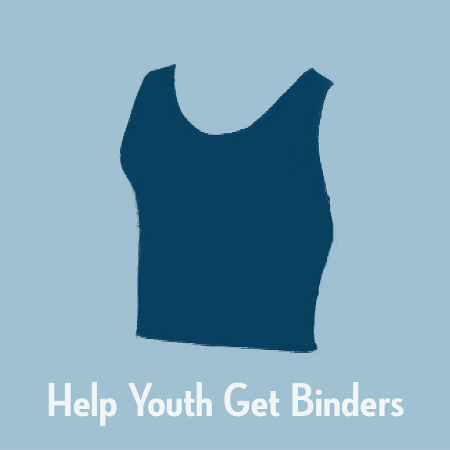Binder Program Donation with card & button